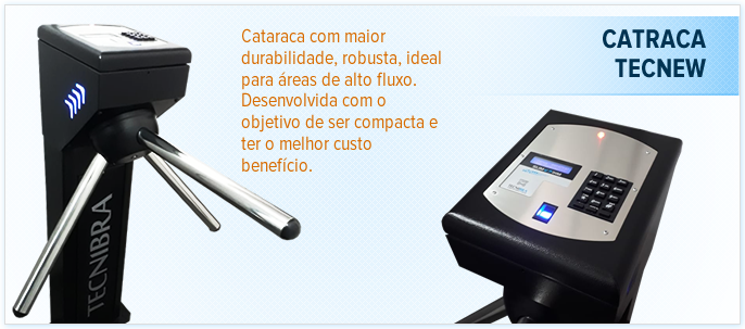 Catraca Tec New HD 360