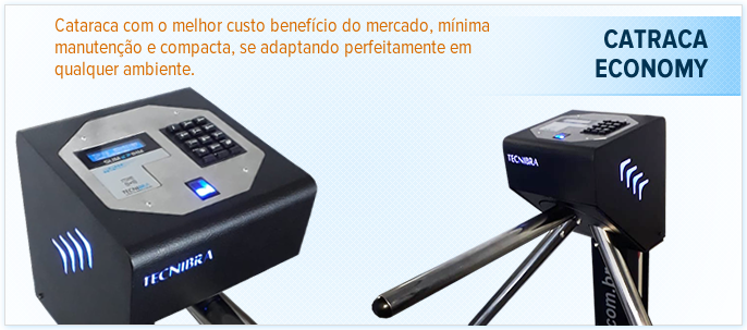 Catraca Economy HD 360