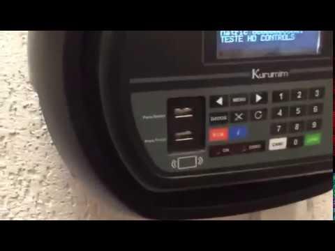 Funcionamento de Relógio de Ponto – Rep 3